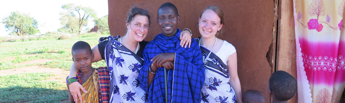 Volunteer Trip zu den Massai