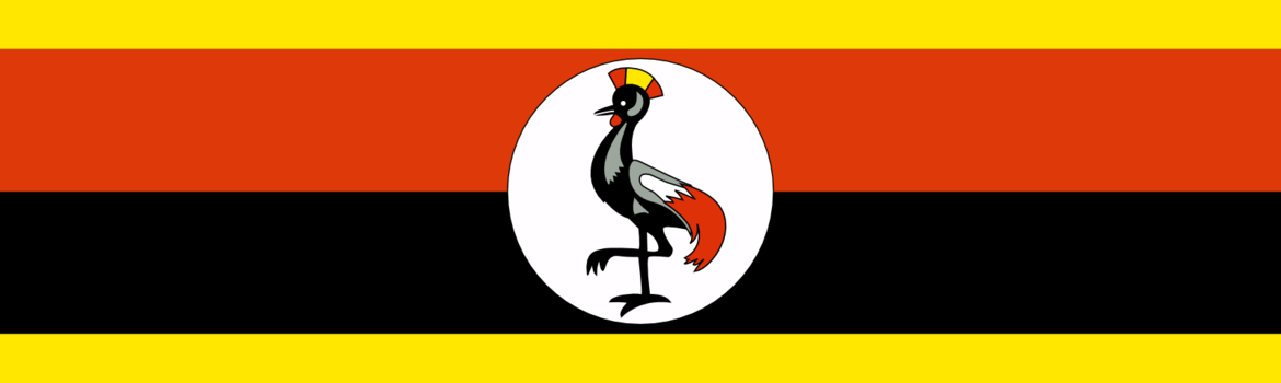 Nationalflagge Ugandas